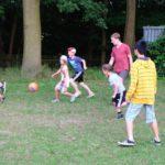 Spaß geht vor Ergebnis beim Fußball