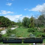 neu gestalteter Park in Pardibice